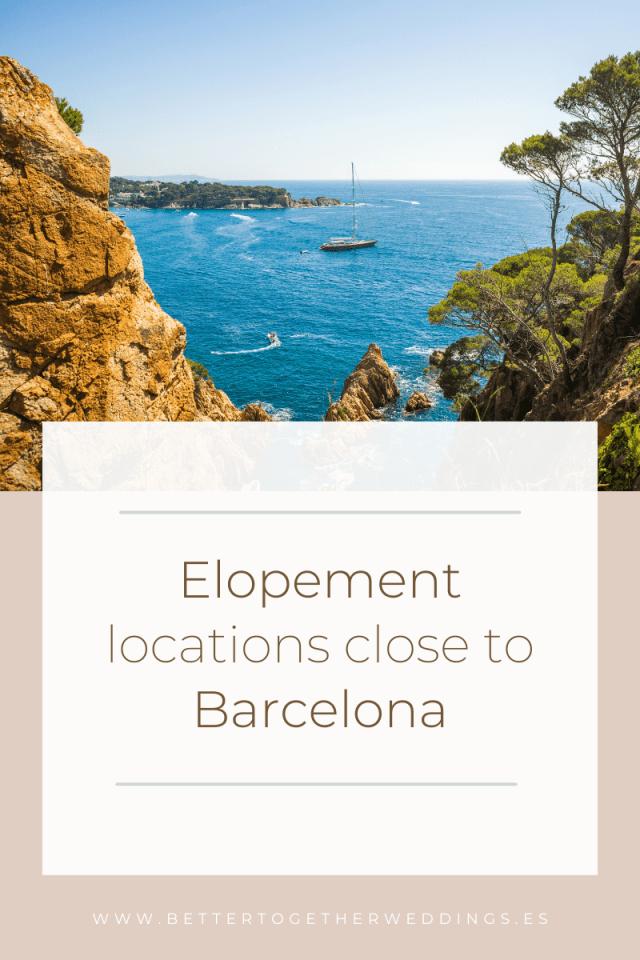 Elopement locations Barcelona, Elopement planner Barcelona